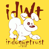 In Dog We Trust logo